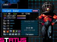 Balor Devil Survivor 2 (Top Screen)