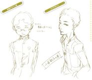 Persona 4 Naoki concept