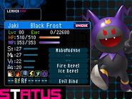 Black Frost Devil Survivor 2 (Top Screen)