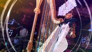 P4D Himiko playing a harp