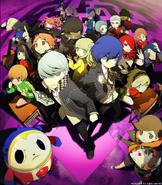 Persona Q Shadow of the Labrinyth artwork