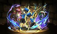 Caroline and Justine Puzzle and Dragons