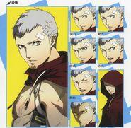 Akihiko various emotions