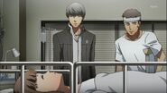 Dojima was too late to see Nanako awhile she was still little time left
