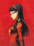P4A Yukiko Amagi Volume 4 Illustration cover