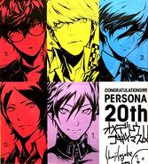 Persona 20th Anniversary Commemoration Illustrated, 13