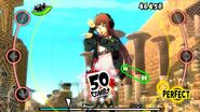 P5D screenshots of Futaba's design