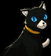 P5 portrait of Morgana's cat form