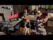 Persona 5 Strikers hideout chilling