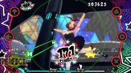 P5D screenshots of Haru's design