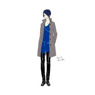 P5R ConceptArt Yusuke2
