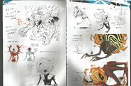 Kagutsuchi P4U Concept Art
