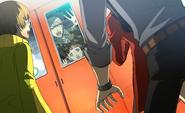 P4AU (P4 Mode, Nanako accidently get inside the train with Yu)