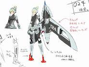 P4A concept design of Special Unit 024 by Shigenori Soejima