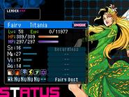 Titania Devil Survivor 2 (Top Screen)