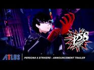 Persona 5 Strikers – Announcement Trailer - PlayStation 4, Nintendo Switch, PC