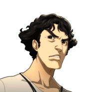 Kamoshida Angry