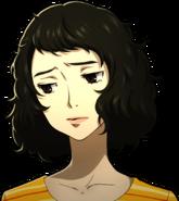 P5 portrait of Kawakami sad