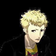P5 animated expression of Ryuji Sakamoto 02
