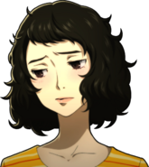 P5 portrait of Kawakami flushed