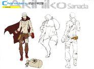 P4U concept artwork of Akihiko