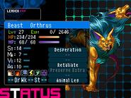 Orthrus Devil Survivor 2 (Top Screen) Fixed