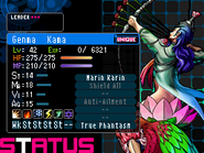 Kama Devil Survivor 2 (Top Screen)