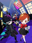 Persona Q2 Kamoshidaman Key Art
