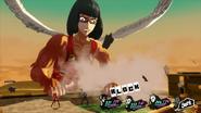 Wakaba boss attack