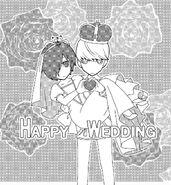 Persona Q Side P4 Wedding Photo