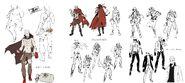 Akihiko Sanada Concept, Official, and Epilogue P4AU