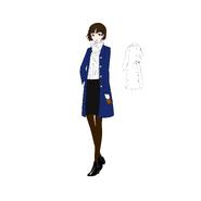 P5R ConceptArt Makoto2
