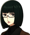 P5R Portrait Wakaba Winter Serious