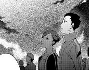 P3 manga Yuko and Kaz