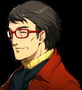 P5R Portrait Shinichi Yoshizawa Smiling