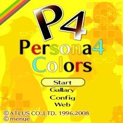 Persona 4 Colors