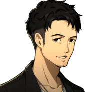 P5R Portrait Shibusawa Smiling