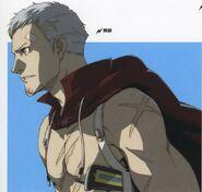 Akihiko battle face