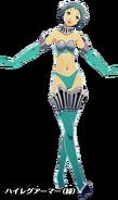 P3D Fuuka Yamagishi High-Cut Armor