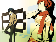 P3P Male and Female Protagonists