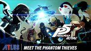 Persona 5 Royal Meet the Phantom Thieves Trailer