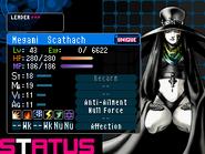 Scathach Devil Survivor 2 (Top Screen)