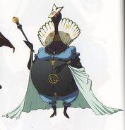 P3M concept art of Empress Arcana