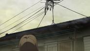 Saki spoted and found corspe of Mayumi Yamato