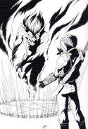 Protagonist and a Demon (Shin Megami Tensei)