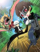 Persona Q2 Junessicland Key Art