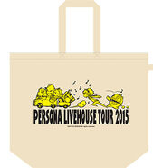 Persona Livehouse Tour 2015 Tote Bag