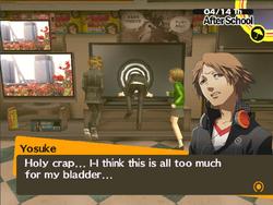 Link yosuke social In Yosuke's