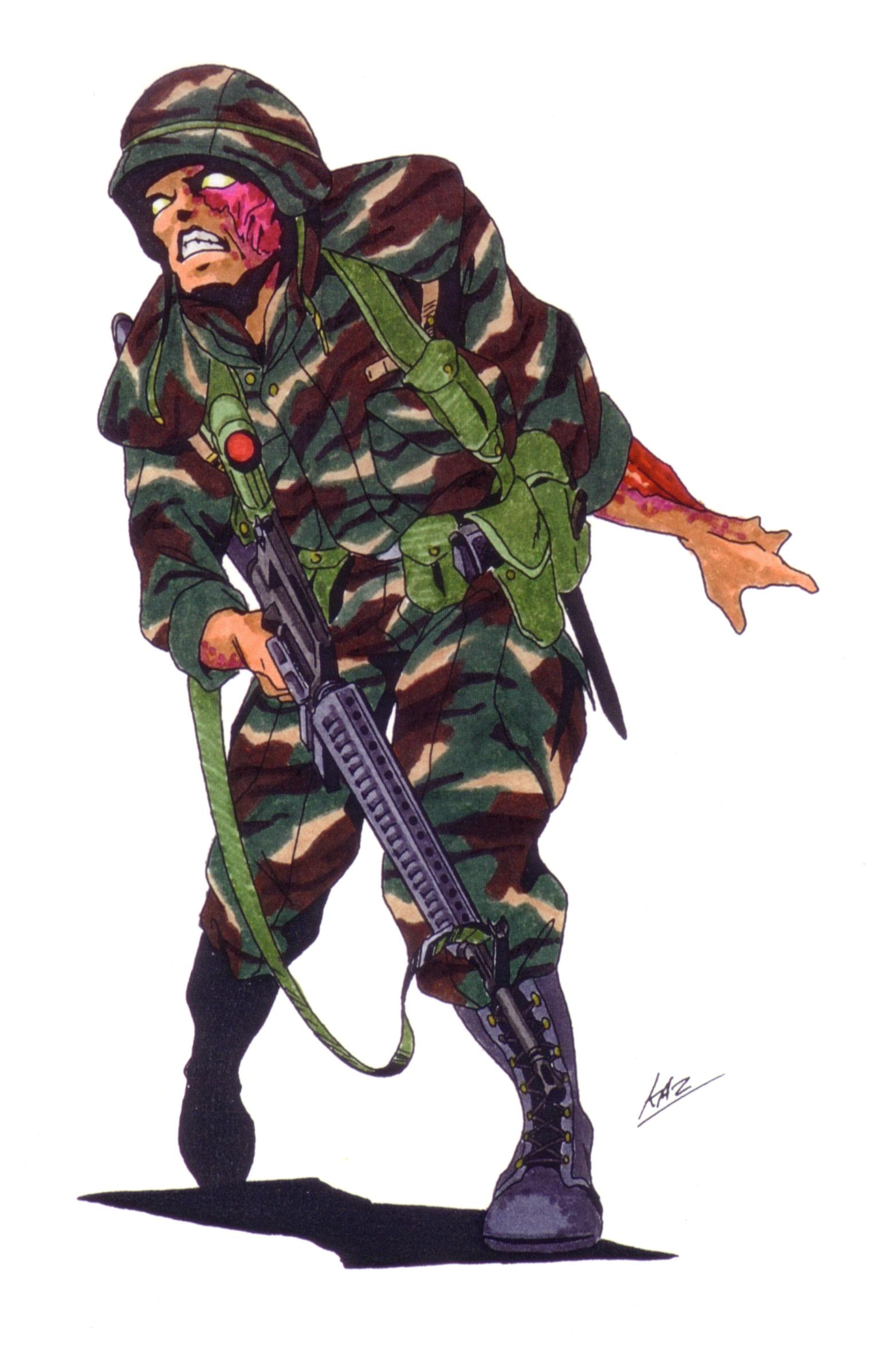 Army Zombie