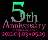 Shin Megami Tensei IMAGINE 5th Anniversary Logo